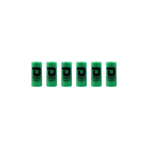 Dominator™ 12 Gauge Gas Shotgun Shell Hulls - Green (6 Hulls/Unit)