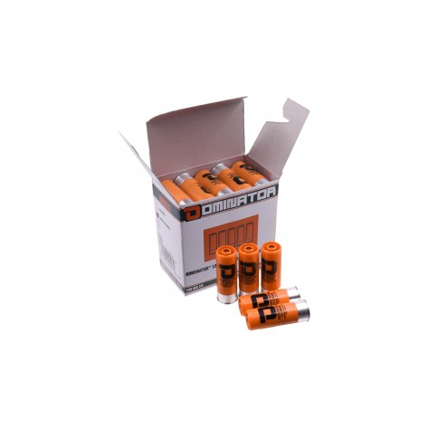 Dominator™ 12 Gauge Gas Shotgun Shells - Orange (25 Shells/Pack)