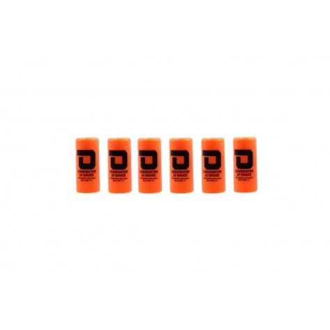 Dominator™ 12 Gauge Gas Shotgun Shell Hulls - Orange (6 Hulls/Unit)