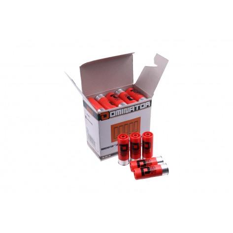 Dominator™ 12 Gauge Gas Shotgun Shells - Red (25 Shells/Pack)