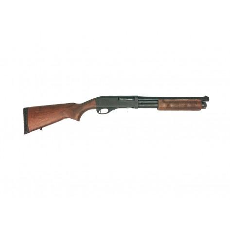 """Dominator DM870 Shell-Ejecting Shotgun (14"""" Barrel Wooden Police Version)"""