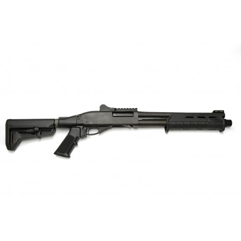 "Dominator DM870 Shell-Ejecting Shotgun - 14"" Barrel Tactical 6-Position Stock MP"