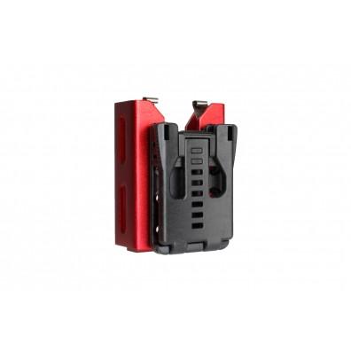 Dominator™ 4X 12 Gauge Shotshell Caddy / Stripper Clip (Red)