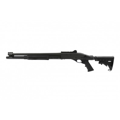 Dominator DM870 Shell-Ejecting Shotgun - Tactical 6-Position Stock