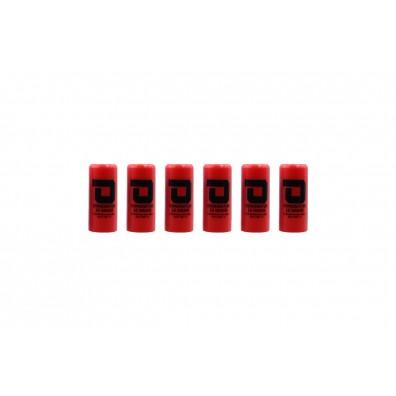 Dominator™ 12 Gauge Gas Shotgun Shell Hulls - Red (6 Hulls/Unit)