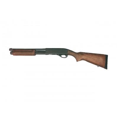 """Dominator DM870 Shell-Ejecting Shotgun - 14"""" Barrel Wooden Police Version"""